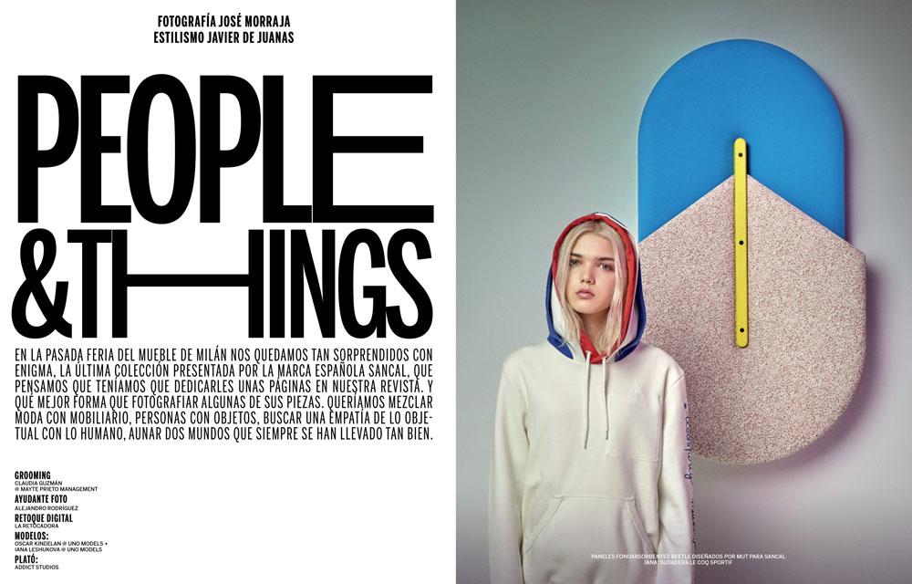 Editorial Moda: People & Things
