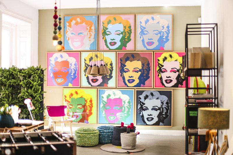 Exposición de Andy Warhol en El Paracaidista de Madrid