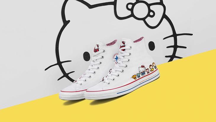 8acee88e Hello Kitty Converse, 2 iconos de moda juntos en unas zapatillas