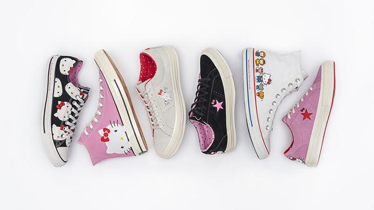 Zapatillas Hello Kitty Converse