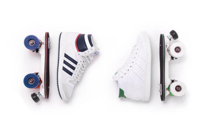 Flaneurz Clique: Las zapatillas rollers
