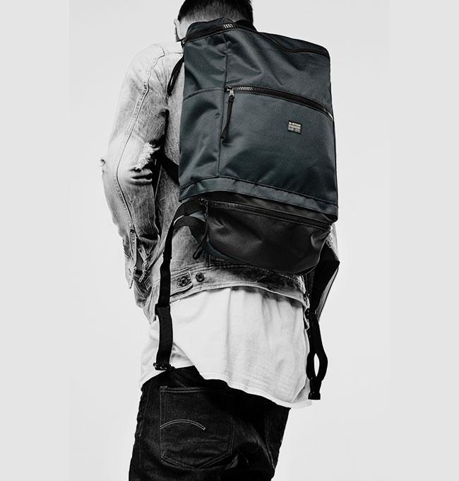 G-STAR, mochilas 2 x 1
