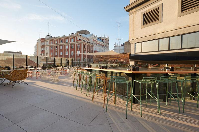 Terrazas de Madrid sin salir de Gran Vía