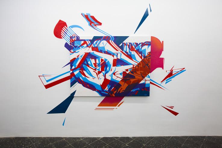 Graffiti en Plastic Murs