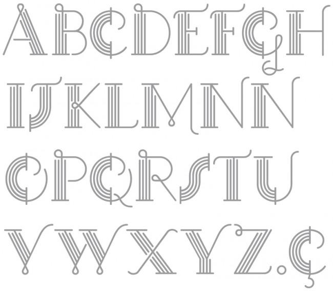 Tipografía Guapadecó