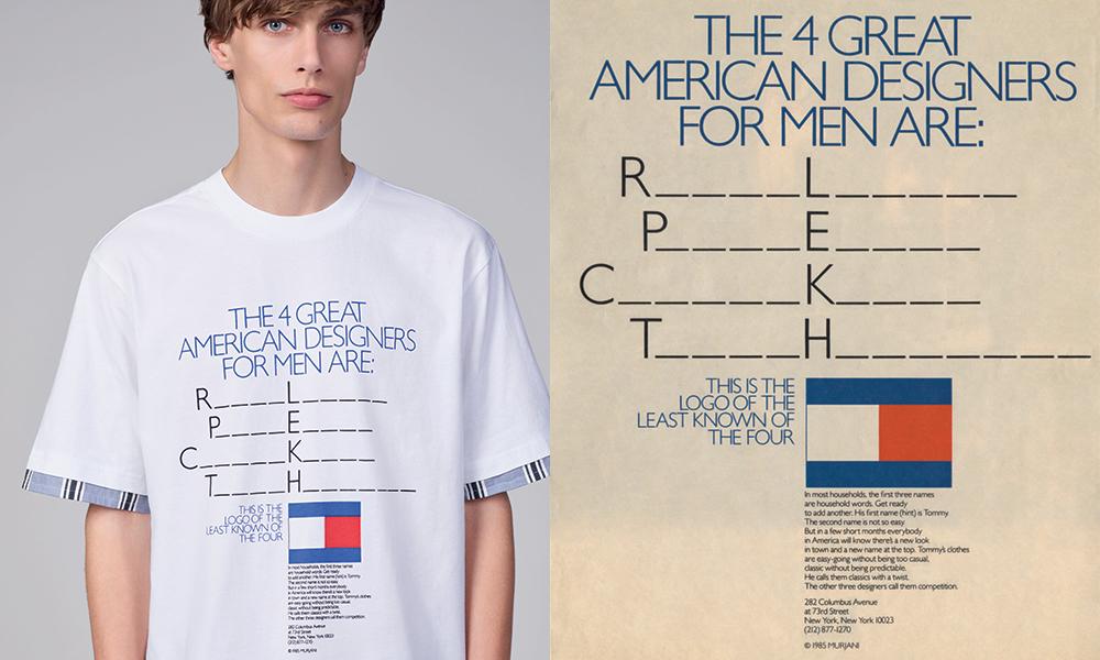 La publicidad hecha moda x Tommy Hilfiger