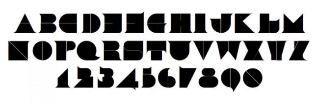 Tipografía Hollowtype