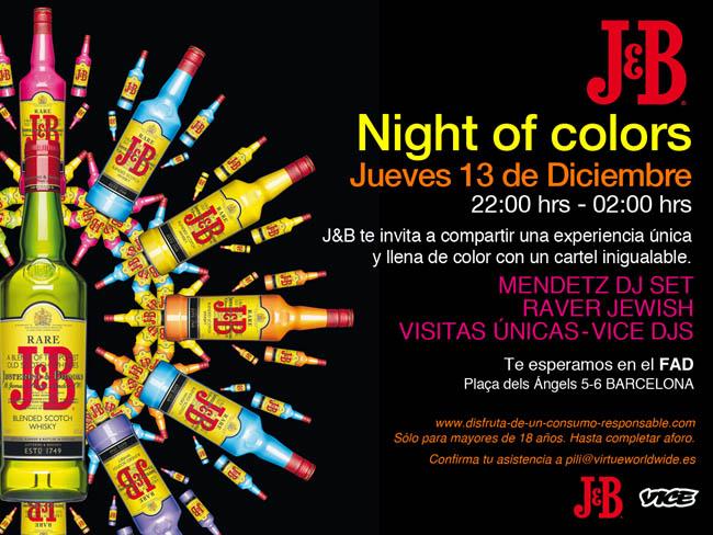 J&B NIGHT OF COLORS
