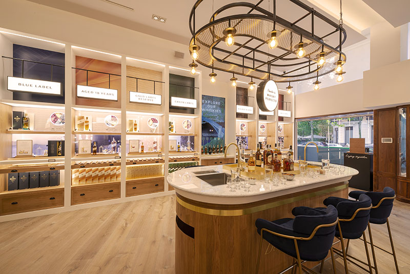 Johnnie Walker en Madrid: primera tienda flagship