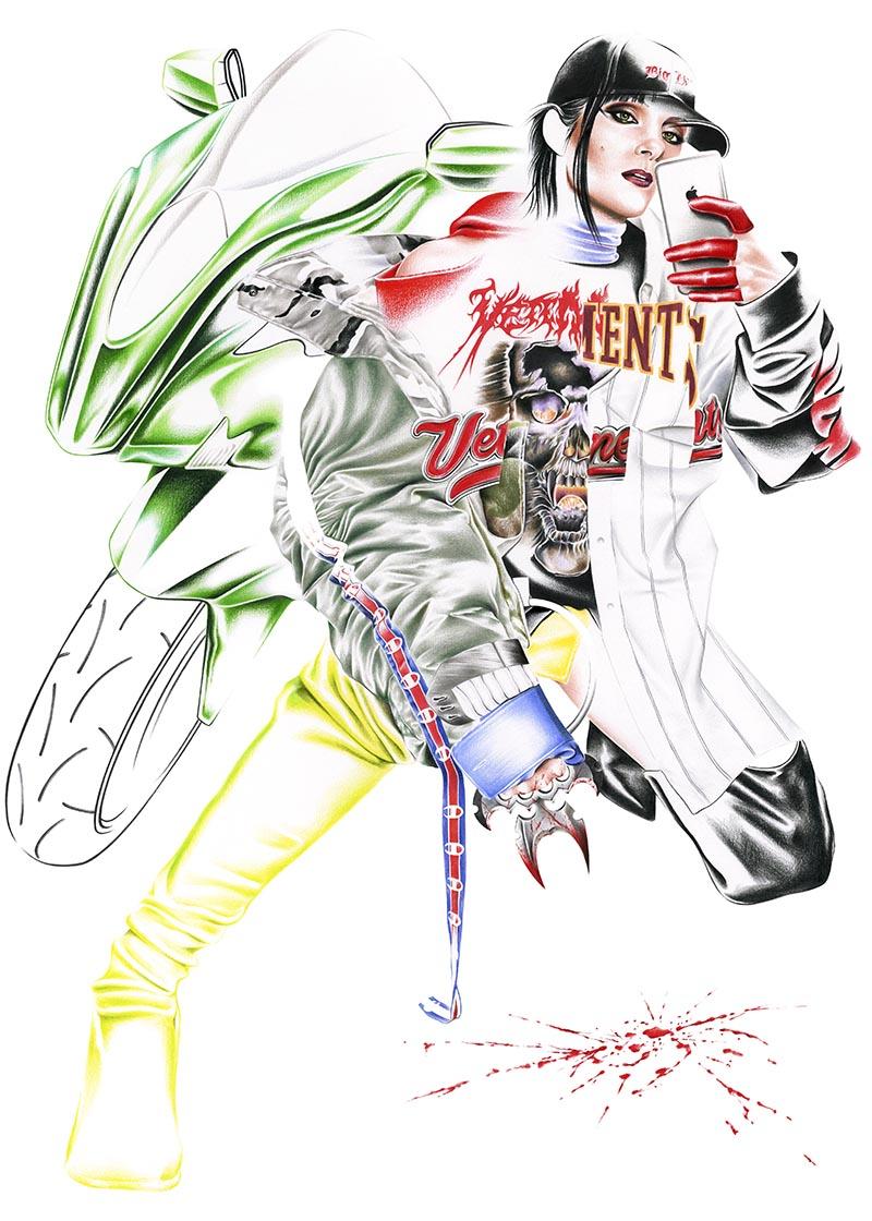 Juan Miguel Ramirez, un ilustrador de moda.