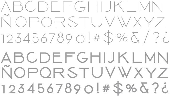 Tipografía Kalea