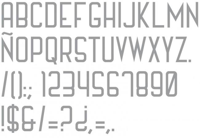 Tipografía Lamoderna