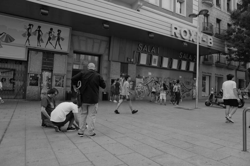 La pantalla en la calle se estrena en el Matadero