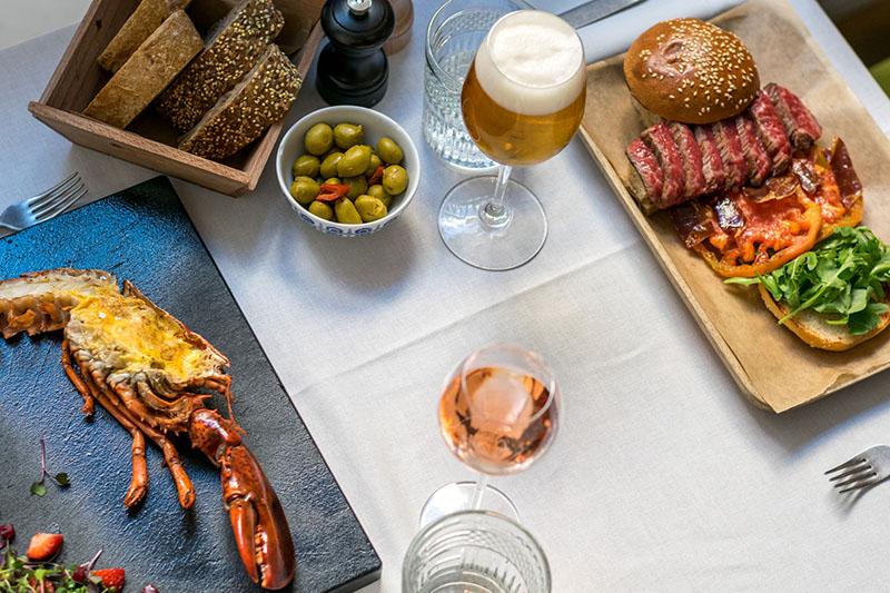 Bogavante y hamburguesa en el Madrid de Scott Fitzgerald