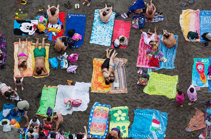 Beach Therapy de Martin Parr