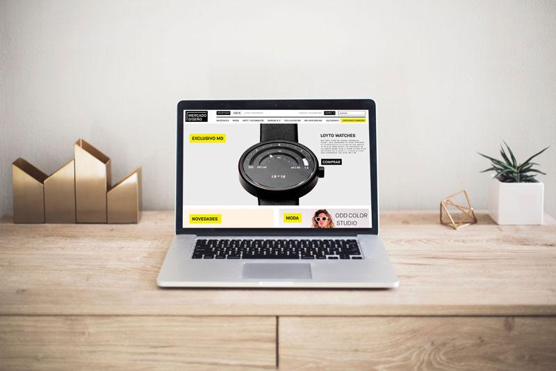 Mercado de Diseño abre tienda online