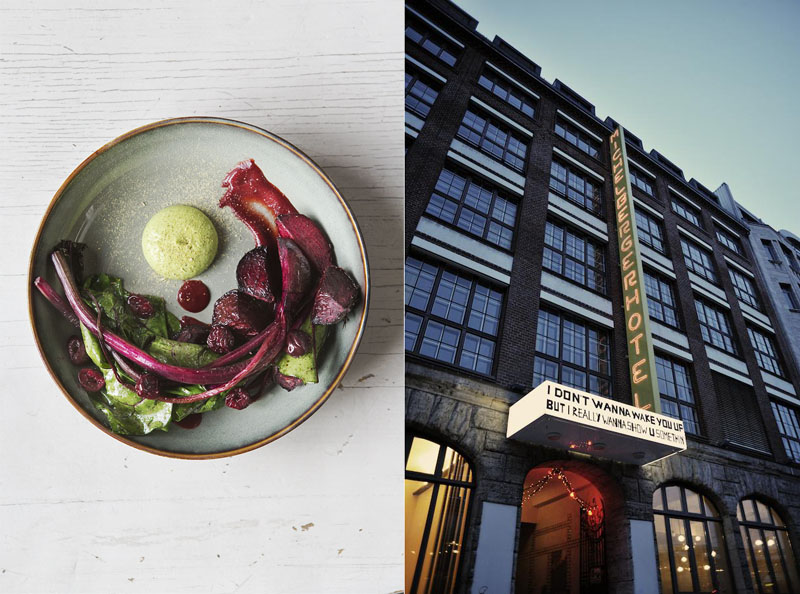 Un hotel muy moderno en Berlín: Michelberger