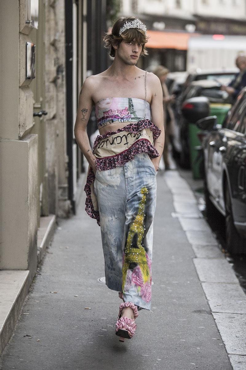 Neith-Nyer-ss19-06 Neith Nyer SS19 desfila en las calles de París