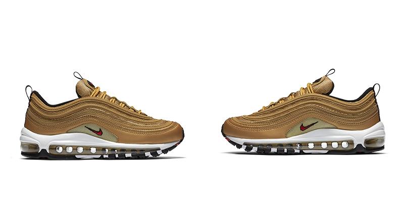 Zapatillas de Oro: Nike Air Max 97 Gold