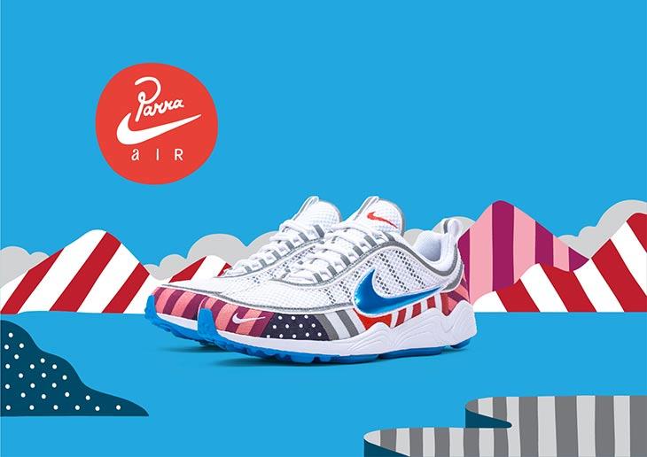 Zapatillas para Coleccionistas: Nike x Parra