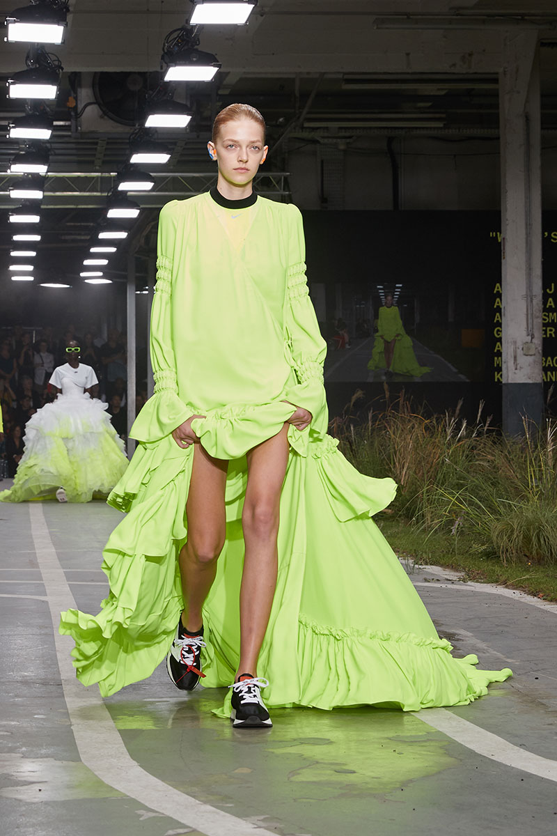 Off White y Nike en la Semana de la Moda de París