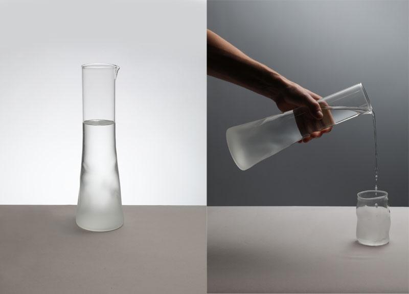 jarra de agua del proyecto Benaïa de Paula Chacartegui