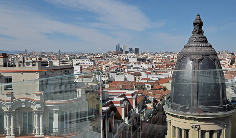 Los Nuevas Terrazas áticos De Madrid Sin Salir De Gran Vía
