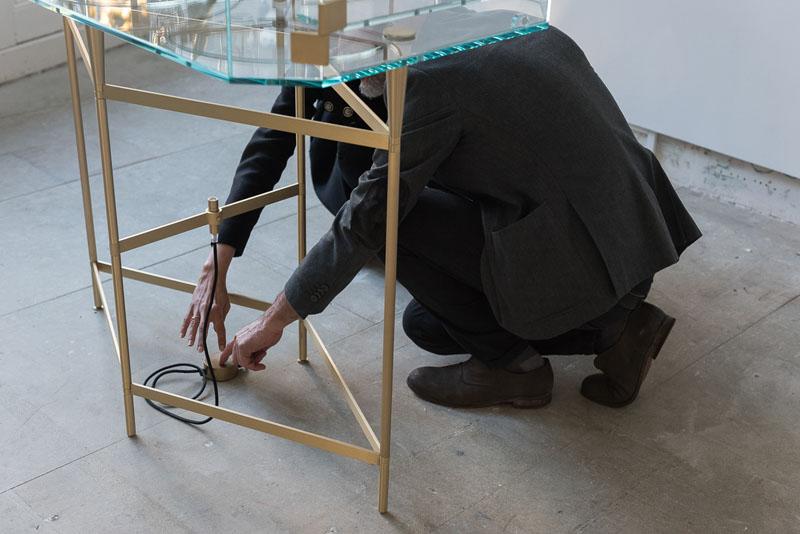 Pietro Russo en la Seeds London Gallery
