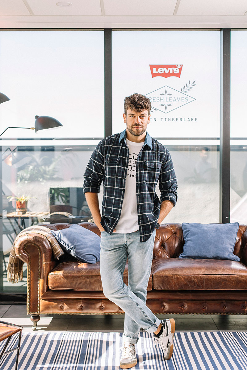 Músicos y Actores de Levi's x Justin Timberlake