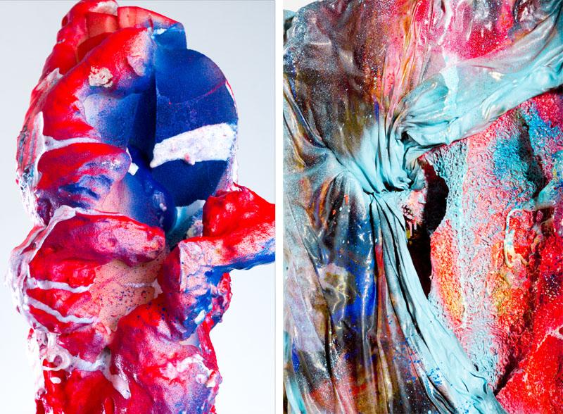 Raquel Quevedo en la galería Etage Projects