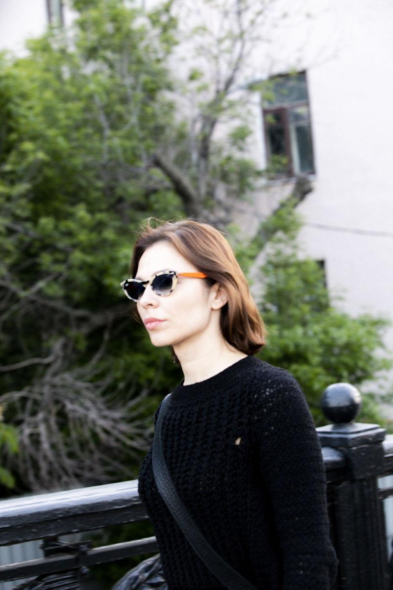 Nina Kraviz con Ray-Ban