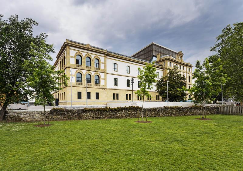 Reforma e interiorismo de Tabakalera House