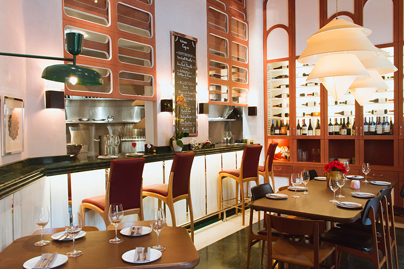 Restaurante Mediamanga en Barcelona