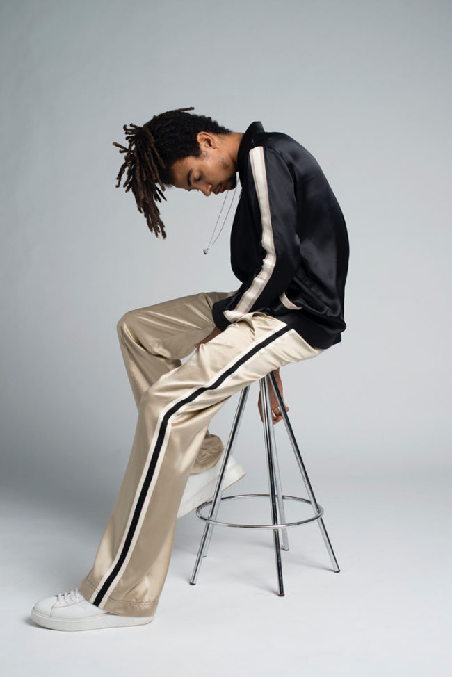 Streetwear Satinado: Serena Bute x Fenton Bailey