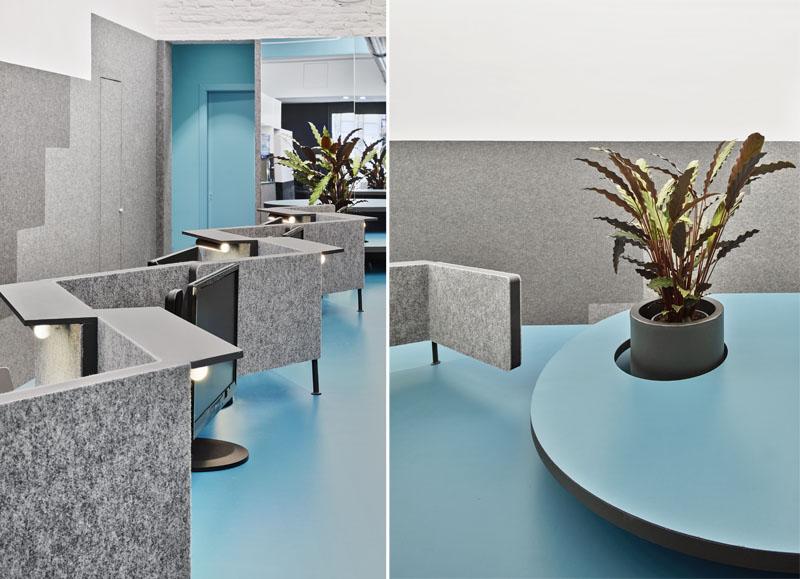 Office 2 de Studio Animal. Plataforma elástica