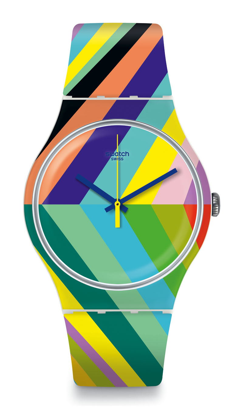 Piensa divertido con la nueva colección de Swatch