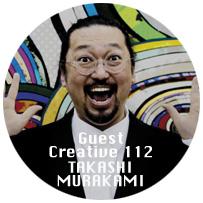 Guest Creative Takashi Murakami