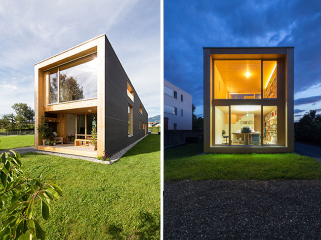 Haus 37m  Casa unifamiliar. Juri Troy Architects