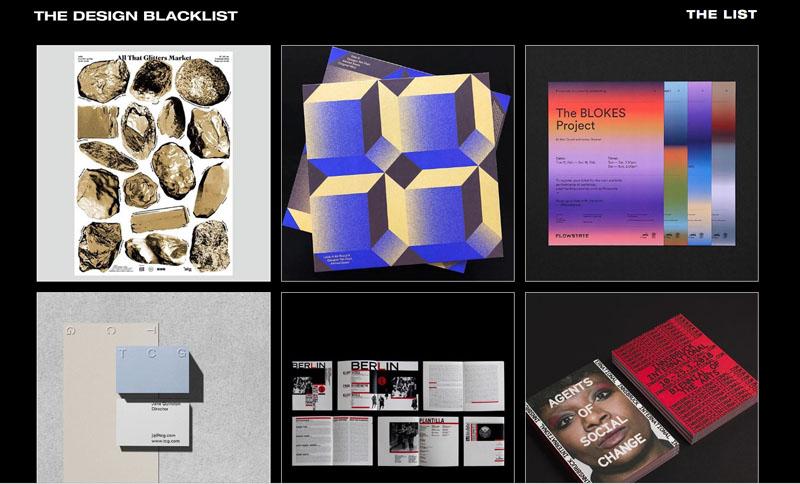The Design Blacklist: El diseño gráfico que viene