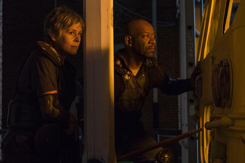The Walking Dead regresa de sus vacaciones