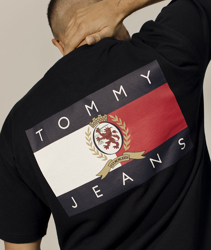 Nuevo escudo para Tommy Jeans Crest collection