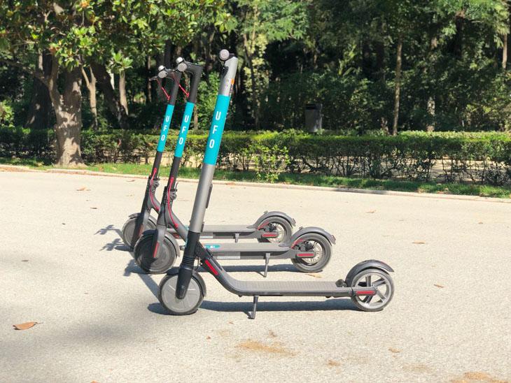 UFO-patinetes-alquiler-04 UFO: El patinete de alquiler llega a España