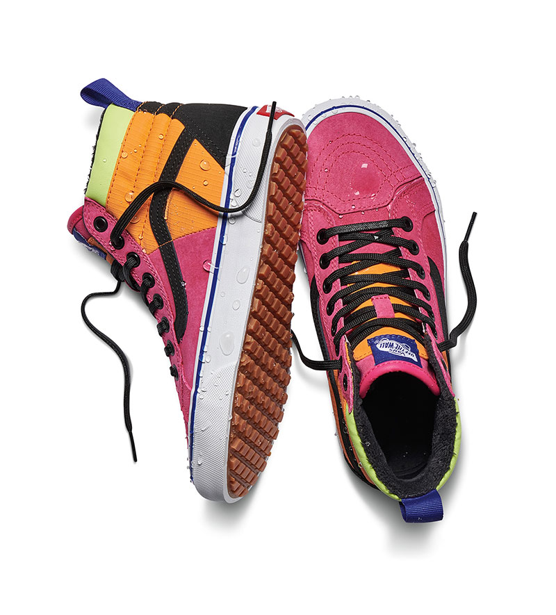 vans impermeables mujer