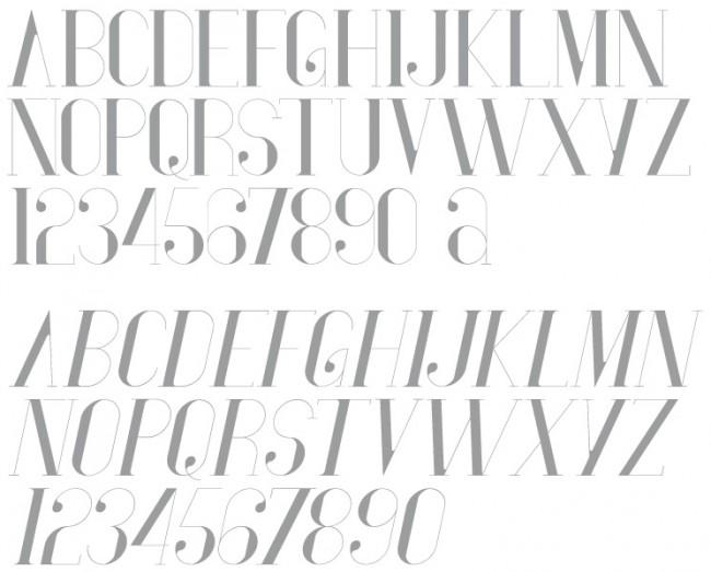 Tipografía Vironica