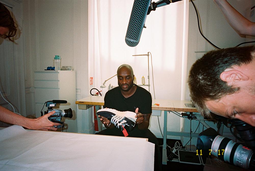 Virgil Abloh de Off-White & Nike