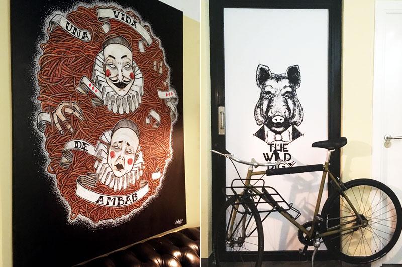 The Wild Pig, rebeldía con pizzas y cócteles para todos