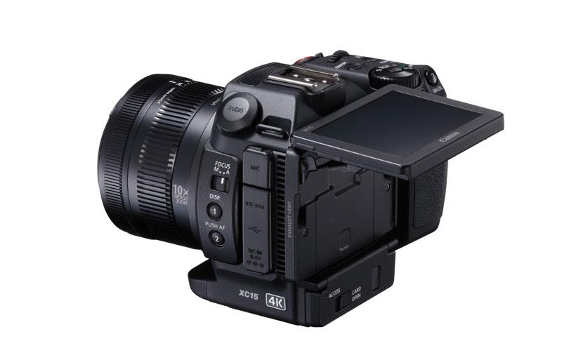 XC15 Canon: Una videocámara 4K profesional