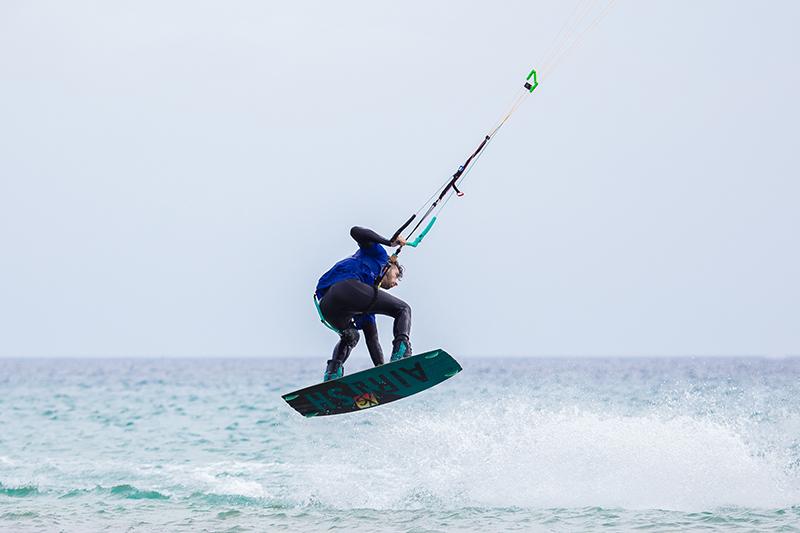 Volando con Alex Pastor, campeón de Kite Surf