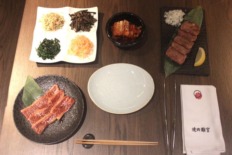 Restaurante Yakiniku Rikyu: Parrilla a la japonesa