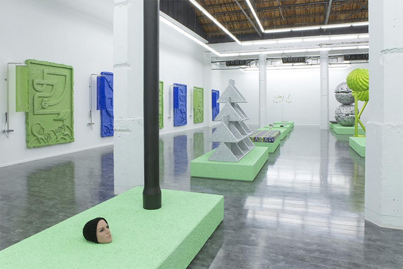 Baba de caracol laser. Yu Honglei en Berlín